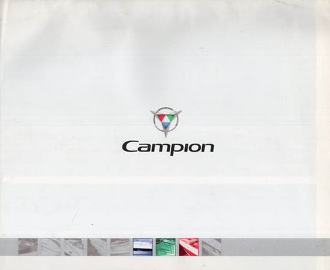 Campion 2005 Poster Brochure