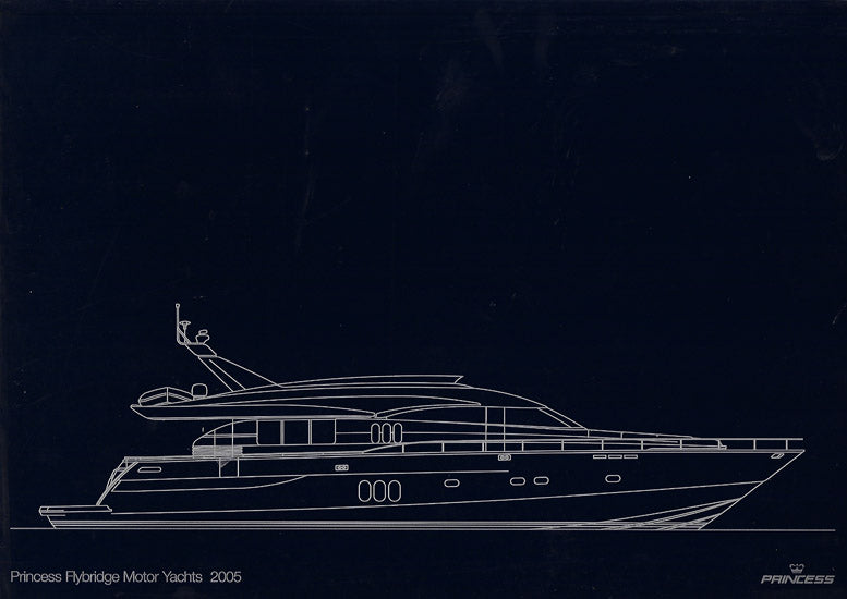 Princess 2005 Flybridge Motor Yacht Brochure