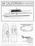 Californian 34 Specification Brochure