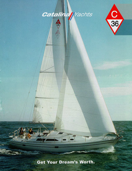 Catalina 36 Mark II Brochure