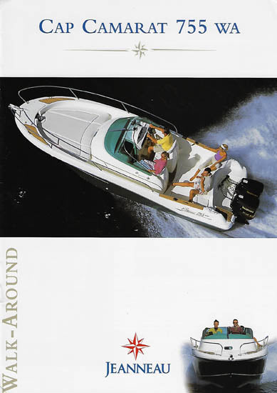 Jeanneau Cap Camarat 755 Walk Around Brochure