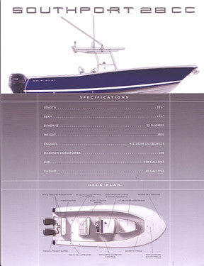 Southport 28 Center Console Brochure