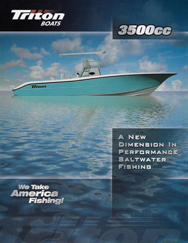 Triton 3500CC Center Conole Brochure