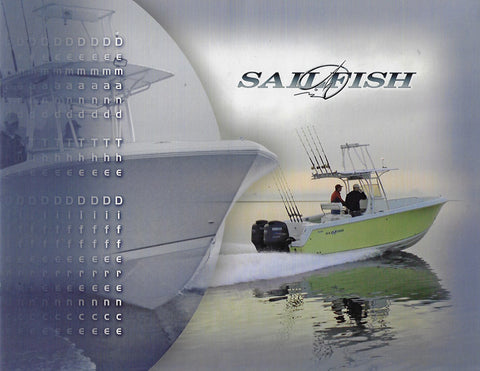 Seminole 2006 Sailfish Brochure