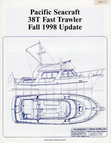Pacific Seacraft 38T Trawler Preliminary Brochure