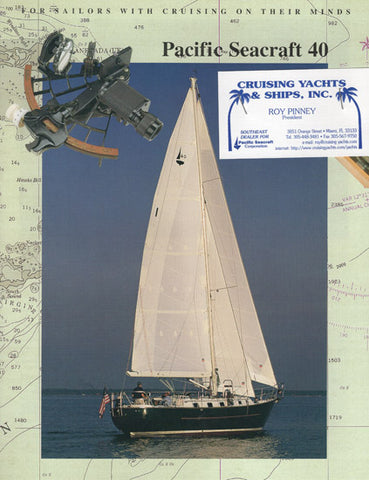 Pacific Seacraft 40 Brochure
