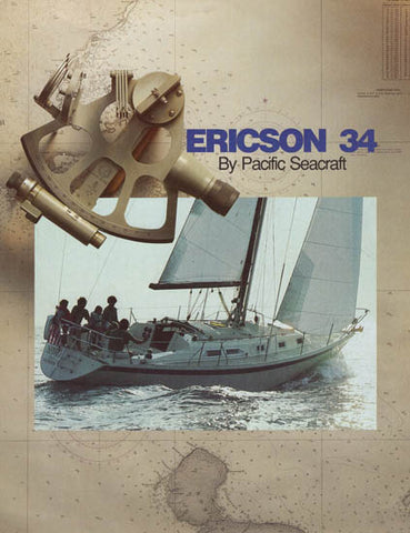 Ericson 34 Brochure [Pacific Seacraft]
