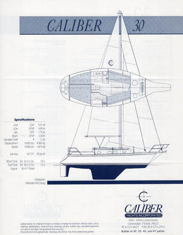 Caliber 30 Specification Brochure