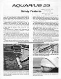 Aquarius 23 Safety Features Brochure