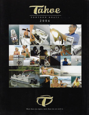 Tahoe 2006 Pontoon Brochure