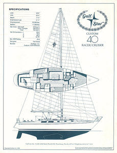 Gulfstar 40 Custom Specification Brochure