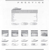 Jeanneau 2006 Prestige Specification Brochure