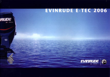 Evinrude 2006 Outboard (Europe) Brochure & Price List