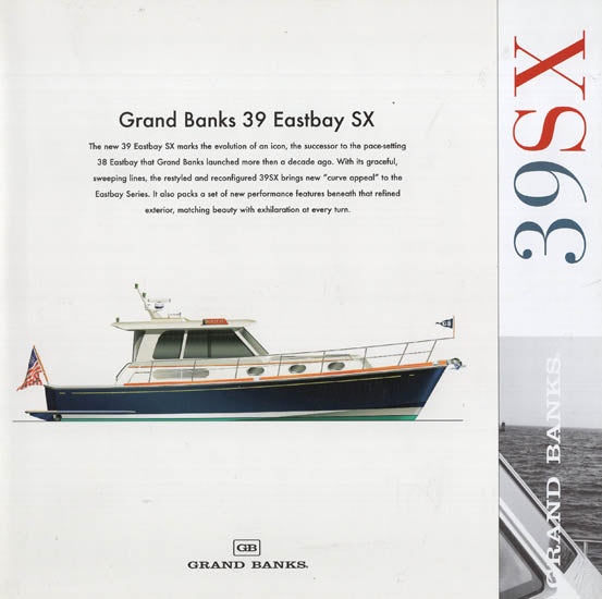 Grand Banks Eastbay 39SX Preliminary Brochure