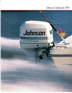 Johnson 1993 Outboard Brochure