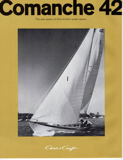 Chris Craft Comanche 42 Brochure