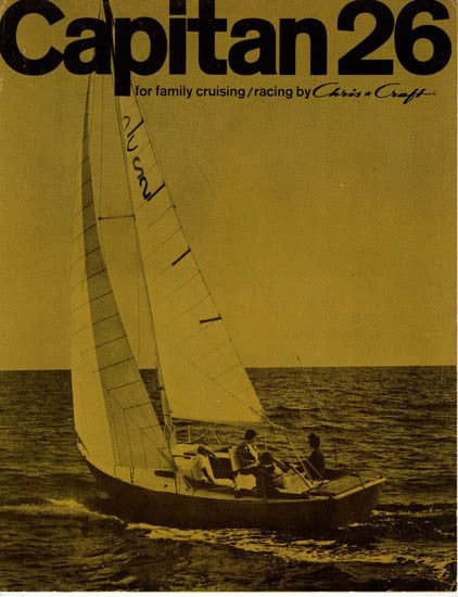 Chris Craft Capitan 26 Brochure