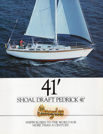Cheoy Lee 41 Pedrick Brochure Package