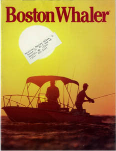 Boston Whaler 1986 Brochure