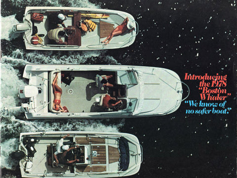 Boston Whaler 1978 Brochure