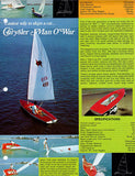 Chrysler 1974 Sailboat Brochure