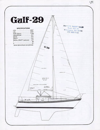 Gulf 29 Specification Brochure