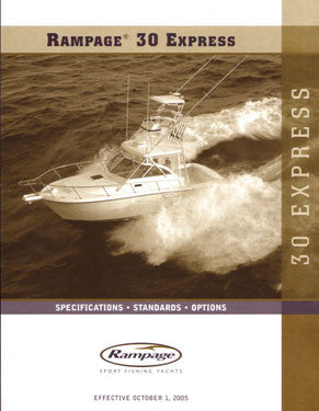 Rampage 30 Express Specification Brochure