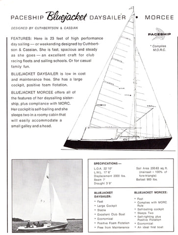 Paceship Bluejacket Brochure