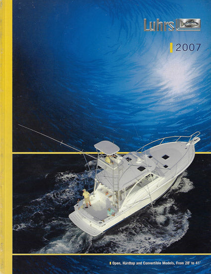 Luhrs 2007 Large Brochure