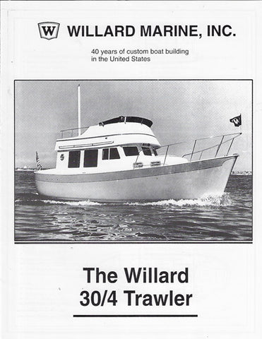 Willard 30/4 Brochure Packet