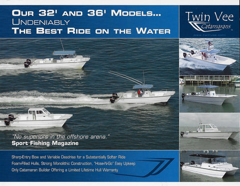 Twin Vee 32 & 36' Brochure
