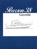 Pearson 38 Convertible Specification Brochure