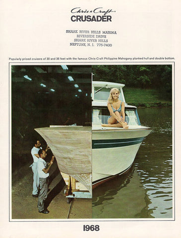 Chris Craft 1968 Crusader Brochure