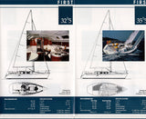 Beneteau 1991 Sail Brochure / Fold Out Poster