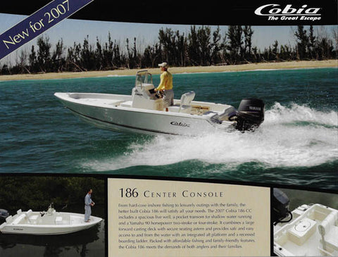 Cobia 186 Center Console Brochure