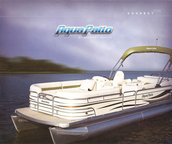 Aqua Patio 2008 Pontoon Brochure