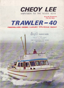Cheoy Lee Trawler 40 Brochure
