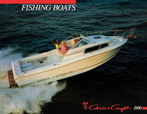 Chris Craft 1990 Fishing Boats Brochure