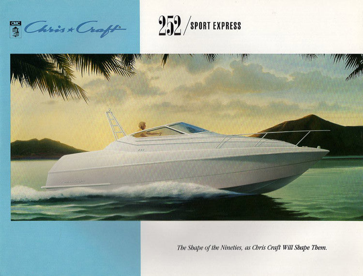 Chris Craft 252 Sport Express Brochure
