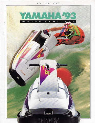 Yamaha Super Jet Brochure