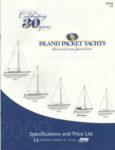 Island Packet 2009 Specification & Price List Brochure