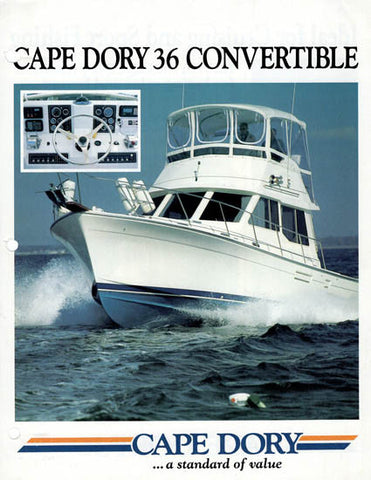 Cape Dory 36 Convertible Brochure