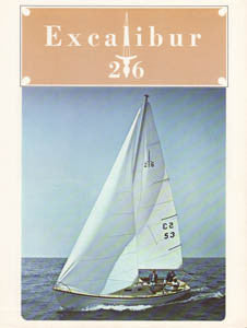 Islander Excalibur 26 Brochure Package