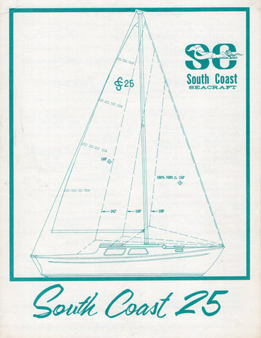 South Coast 22 Brochure – SailInfo I boatbrochure com