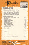Kenner Kittiwake Price List