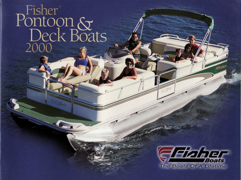 Fisher 2000 Pontoon & Deck Brochure