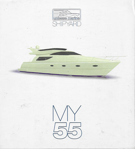 Uniesse 55 Motor Yacht Specification Brochure