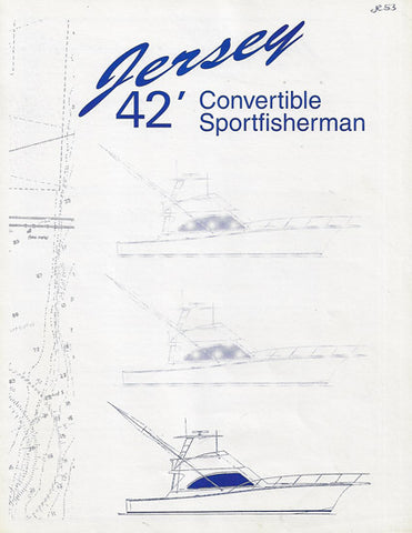 Jersey 42 Convertible Specification  Brochure
