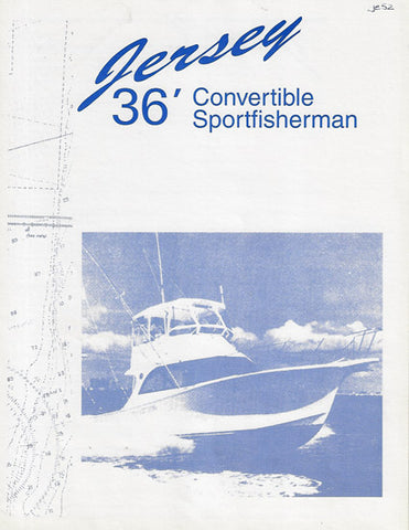 Jersey 36 Convertible Specification  Brochure
