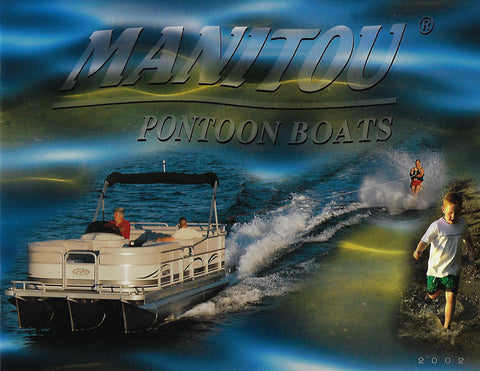 Manitou 2002 Pontoon Brochure